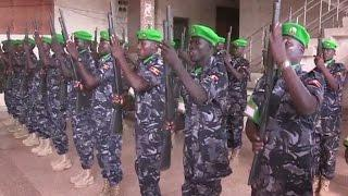 140 Ugandan Policemen Join AMISOM Forces In Somalia
