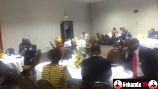 Chiyangwa Addressing Zimbabwe Prison Service Fundraiser