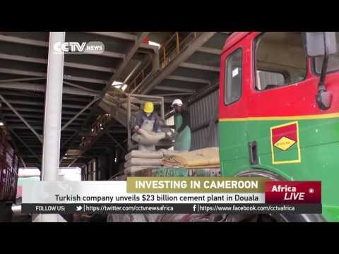 Turkish Company Unveils $23 Dollar Cement Plant In Cameroon's Douala