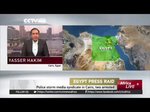 Egypt Police Storm Media Syndicate In Cairo, Two Arrested