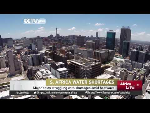 Major Cities In South Africa Struggling With Shortages Amid Heatwave