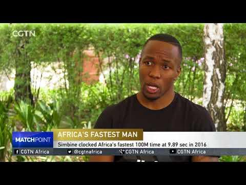 Africa's Fastest Man, Akani Simbine Outlines Plans For 2018 Season