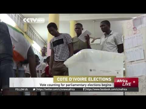 Vote Counting For Parliamentary Elections Begins In Cote D'Ivoire