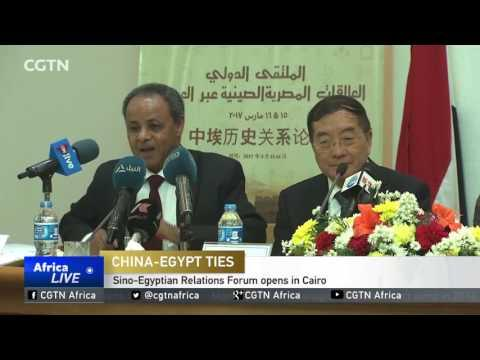 Sino-Egyptian Relations Forum Opens In Cairo