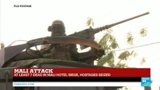 Mali: Deathtoll Rises In Hotel Hostage Crisis, Shooting Ongoing As Army Engages Gunmen