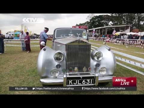 Kenyan Car Show Attracts Hundreds Of Vintage Car Enthusiasts