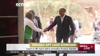 UK Court Drops Rwanda Spy Chief Karenzi Karake Case