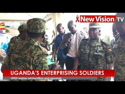 Uganda's Enterprising Soldiers