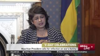 Mauritian President Calls For Reflection On War's Futility