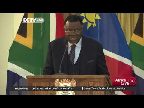 South Africa & Namibia Leaders Agreed On The Importance Of Cross-border Trade