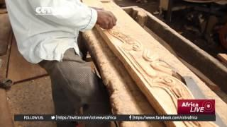 DR Congo Entrepreneur's Antique Furniture Gets World Acclaim