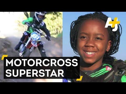 11-Year-Old Girl From Zimbabwe Is A Rising Motocross Star