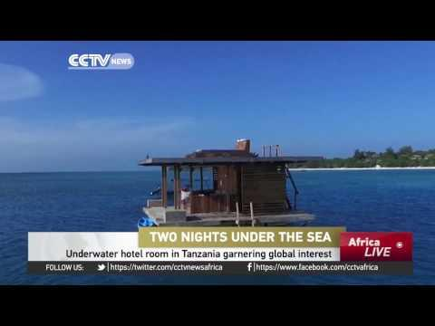 Underwater Hotel Room In Tanzania Garnering Global Interest