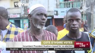 Cote D'Ivoire Holds Elections For New Leader