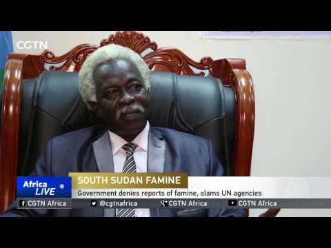 South Sudan  Denies Reports Of Famine, Slams UN Agencies