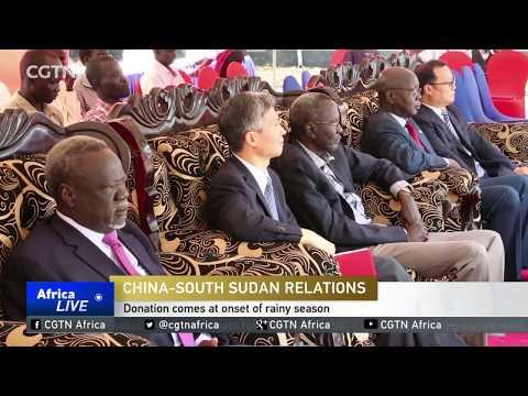 China Donates Antimalarial Drugs Worth $750,000 To Juba