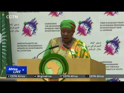 Former AUC Chairperson Dlamini-Zuma Hands Over To Faki