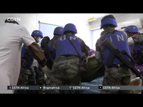 Chinese Peacekeeping Medical Unit In Northern Mali Treats Victims Of Attack