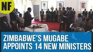 Zimbabwe's Mugabe Appoints 14 New Ministers