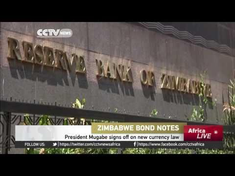 President Mugabe Effects Law For Introduction Of New Currency