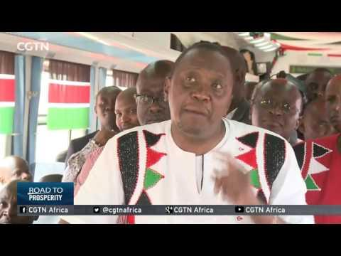 Kenyan President Hails New Train Trip As A Wonderful Experience