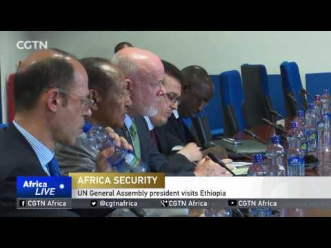 UN General Assembly President Visits Ethiopia