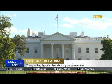 U.S. Secretary Of State Meets With Egyptian FM