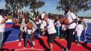 NBA AFRICA Court Dedication In SOWETO