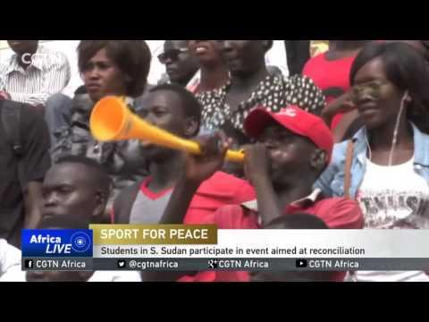 Students In S. Sudan Participate In Sports Aimed At Reconciliation
