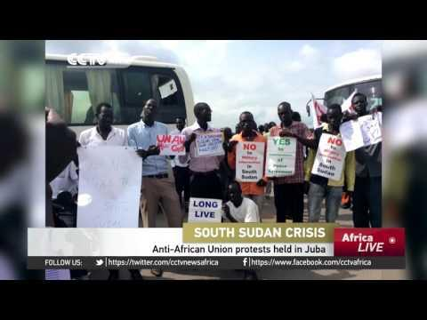Anti-African Union Protests Held In Juba