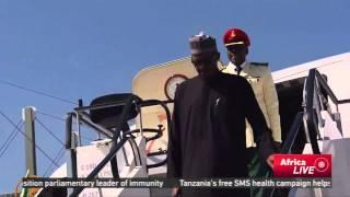 President Buhari Makes First Official Trip To Cameroon