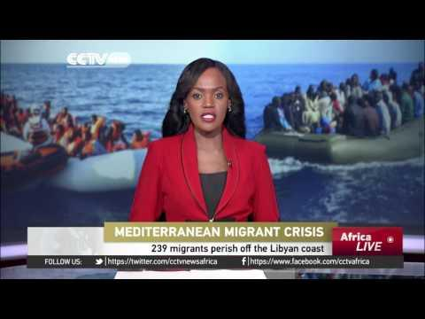 239 Migrants Perish Off The Libyan Coast