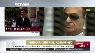 Hosni Mubarak's Retrial Adjourned