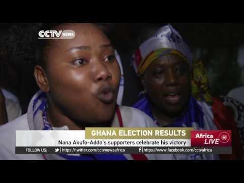 Opposition Leader  Nana Akufo-Addo Is Ghana's President Elect