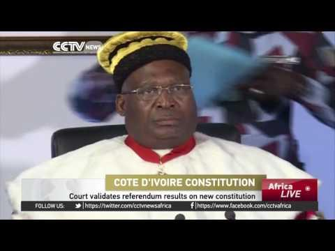 Ivorian Court Validates Referendum Results On New Constitution