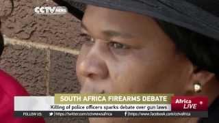 South Africa Debates Whether To Outlaw Guns