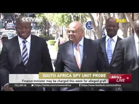 South Africa Finance Minister May Be Charged This Week For Alleged Graft