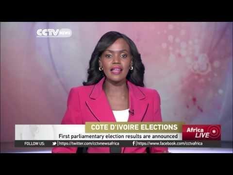 First Parliamentary Election Results In Cote D'Ivoire Announced