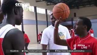 NBA Executives In Nairobi For A Basketball Clinic