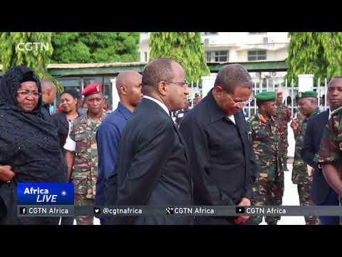 Tanzania Holds Memorial For Soldiers Killed In DRC Attack