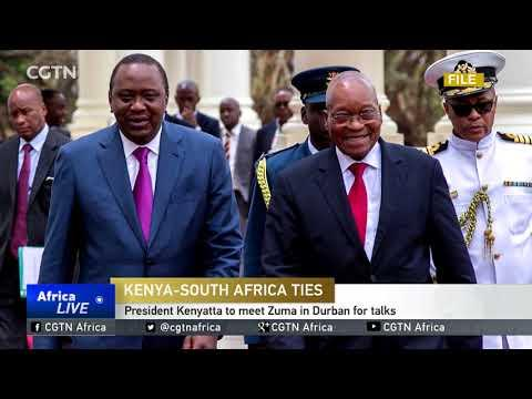 President Kenyatta To Meet Zuma In Durban For Talks