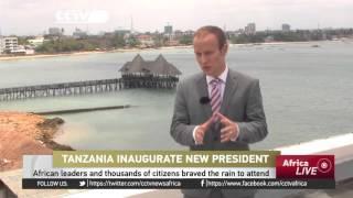 John Magufuli Inaugurated As Tanzania's President