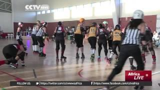 Roller Derby Takes Root With Cape Town's Female Skaters
