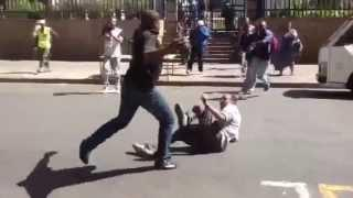 Xenophobic Attack In Downtown Johannesburg * Warning graphic violence!