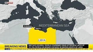 Migrant Boat Carrying Up To 700 People Capsizes