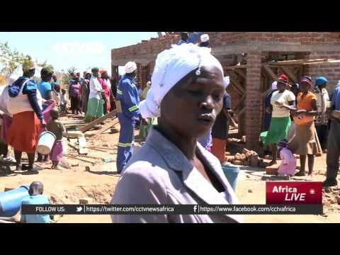Rural Community Members In Zimbabwe Team Up To Build Classrooms