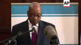 Zuma Says 13 South African Soldiers Killed In Fighting In Central African Republic