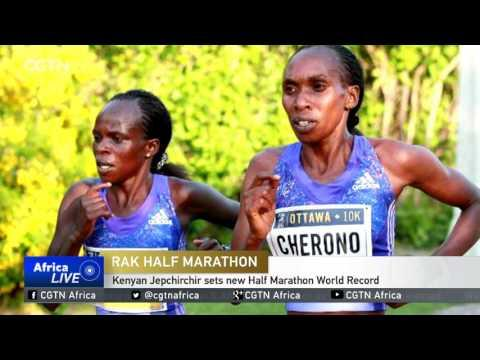 Kenyan Jepchirchir Sets New Half Marathon World Record