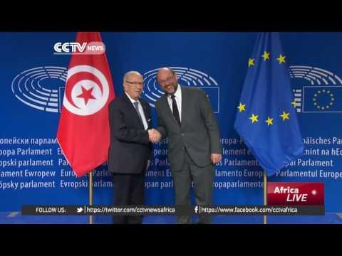 Tunisian President Calls For EU Support In Fighting Terrorism