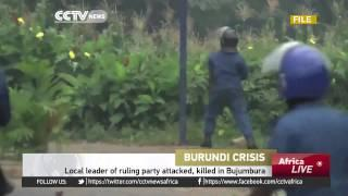 Local Leader Of Ruling Party Attacked Killed In Bujumbura